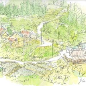 小川村の集落