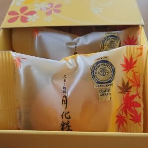 大阪土産:【ミルク饅頭 月化粧】