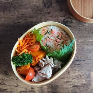 極狭キッチンから、こんにちは︰今日のお弁当は、「塩ゆで豚」