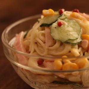 【秘密の悪女キッチン】︰素麺サラダ