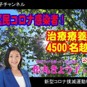 足立区松丸きょう子さんの2021年8月26日 足立区コロナ感染情報【4K】