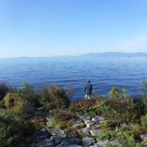 さあ琵琶湖に行ってみよう!