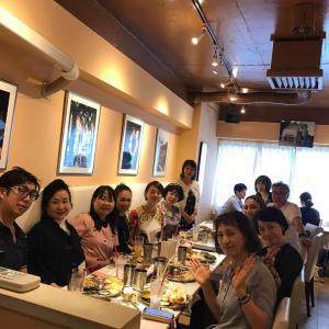 熊谷真実さんを囲んで食事会