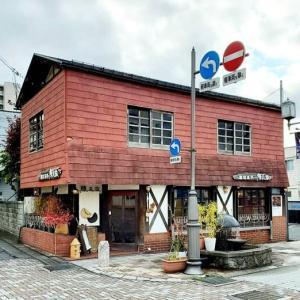 旅先で立ち寄った喫茶店☆煉瓦家(山形)