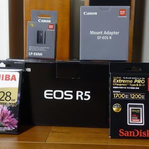 キャノン EOS R5