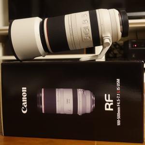 キャノン RF100-500mm