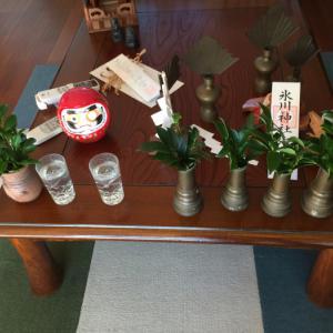神棚の清掃