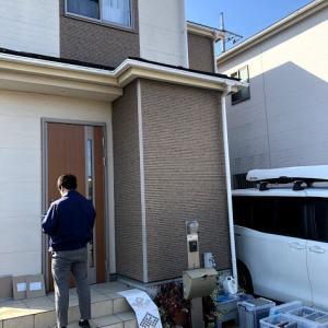10年目の建売住宅 外壁塗装検討