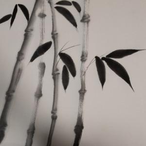 水墨画の練習