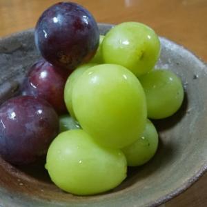 葡萄、大好き。