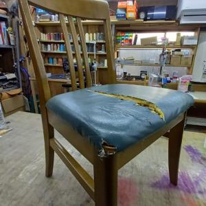 椅子座面の張り替え