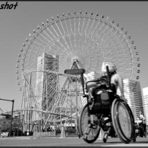 横浜マラソン車いすレース