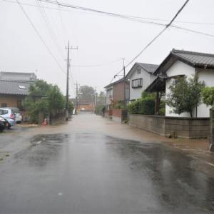 台風19号の被害が心配。