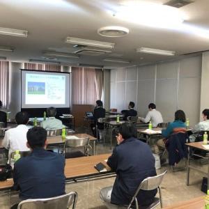 地域オリジナル米の研修会に出席。