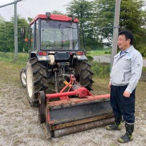 旧筑波東中学校の除草作業