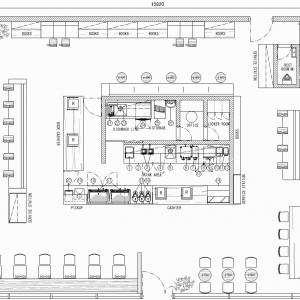 厨房設計/繁盛店づくりの厨房計画を理解する/ボーダーレスコーヒーアンドブックス-2