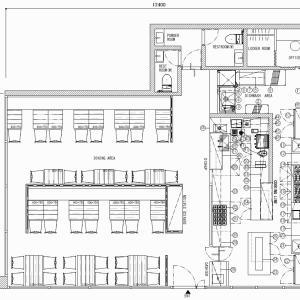 厨房設計/繁盛店づくりの厨房計画を理解する/オーガニックサラダカフェ専門店-1