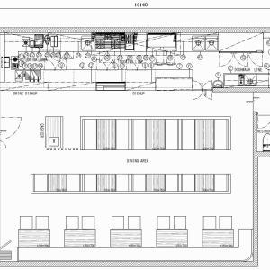 厨房設計/繁盛店づくりの厨房計画を理解する/カフェ&グルメハンバーガーダイナー-2