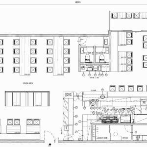 厨房設計/繁盛店づくりの厨房計画を理解する/新鮮野菜の「和彩茶房」和風カフェ-1