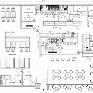 厨房設計/繁盛店づくりの厨房計画を理解する/イタリアンダイニング-2