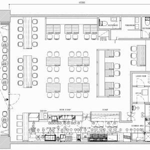 厨房設計/繁盛店づくりの厨房計画を理解する/名物ビーフシチューとおいしいコーヒーの店-2