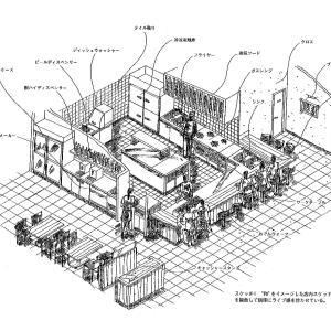 厨房設計/繁盛店づくりの新しい厨房計画を理解する/おでん居酒屋-2