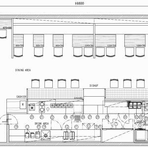 厨房設計/繁盛店づくりの厨房計画を理解する/サイフォンコーヒーと軽食の専門店-2