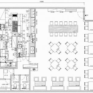 厨房設計/繁盛店づくりの厨房計画を理解する/デリミールクラブ(ベーカリーとカフェ複合タイプ)-2