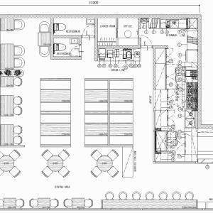 厨房設計/繁盛店づくりの厨房計画を理解する/ヘブンリーコーヒーアンドパンケーキハウス-1