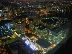 都会の夜景は美しい、、。