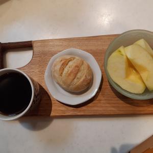 豆乳はちみつパンで朝ごはん♪
