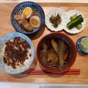 錦松梅で朝ご飯と歩粉のお菓子♪