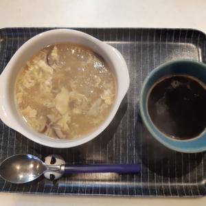 冬瓜のスープで朝ご飯と呂九呂カフェのかぼちゃプリン♪