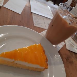 iijima coffeeのマンゴータルト♪
