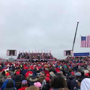 今日、激戦地ペンシルベニア3か所でトランプ大統領演説!3チームに分かれてすべて参加!
