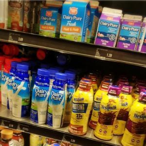 ハワイの乳製品☕