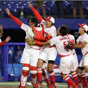 女子ソフトボール日本⚾