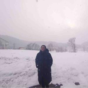 『雪です。。』