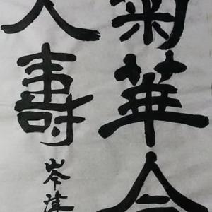 書道教室の生徒の作品508/齋藤峯津