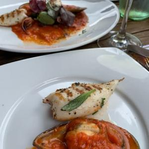 イタリアレストランでお外ランチ