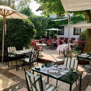 プァルツのレストランとワイン畑
