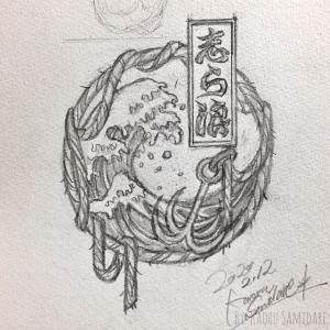 12[ 弁天兎猫ノ白浪 ] 革ジャンペイント