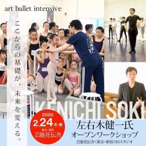 2020年2月 art ballet intensive 予約開始!