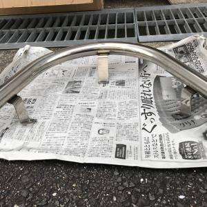 【マジェスティー125FI】タンデムバー交換…の巻