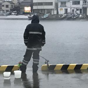 雨の日や雨の後の釣りについて