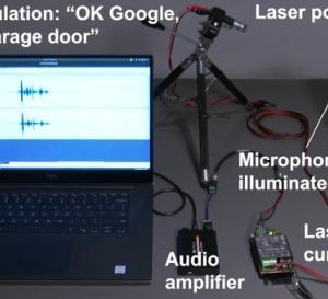 AlexaやGoogleEchoはレーザーにも反応してしまう