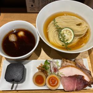 らぁ麺や 嶋〜特製鰹昆布水つけ麺 醤油〜