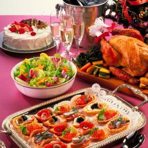 吸収ピークの満月にクリスマスのご馳走@月のリズムでダイエット