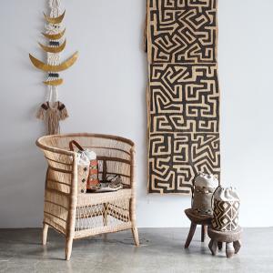 クバ族の布の企画展「KHOHiが恋したクバクロス」