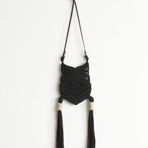 WONDER FULL LIFE Makurame Braid bag ワンダーフルライフ マクラメ ブレードバッグ